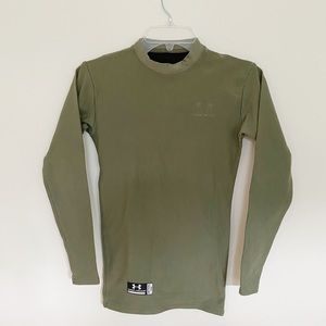 Under Armour Fitted ColdGear Tactical Mock Turtle